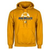 Gold Fleece Hoodie-Rambelles Soccer
