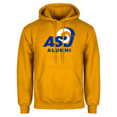 Gold Fleece Hoodie-ASU Alumni