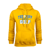 Gold Fleece Hoodie-Tee Off Golf Design