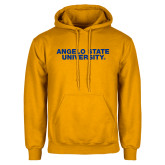 Gold Fleece Hoodie-Angelo State University