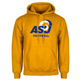 Gold Fleece Hoodie-ASU Football