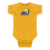 Gold Infant Onesie-Primary Mark
