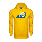 Under Armour Gold Performance Sweats Team Hoodie-ASU