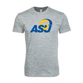 Next Level SoftStyle Heather Grey T Shirt-ASU