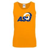 Gold Tank Top-ASU Logo