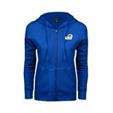 ENZA Ladies Royal Fleece Full Zip Hoodie-ASU