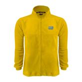 Fleece Full Zip Gold Jacket-Angelo State