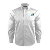 Red House White Dobby Long Sleeve Shirt-ASU
