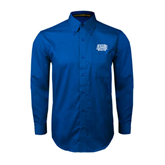 Royal Twill Button Down Long Sleeve-Angelo State