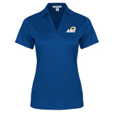 Ladies Royal Performance Fine Jacquard Polo-ASU Logo