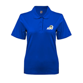 Ladies Easycare Royal Pique Polo-ASU
