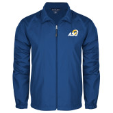 Full Zip Royal Wind Jacket-ASU Logo
