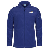 Columbia Full Zip Royal Fleece Jacket-ASU Logo