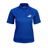 Ladies Royal Textured Saddle Shoulder Polo-ASU