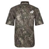 Camo Short Sleeve Performance Fishing Shirt-Primary Mark
