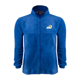 Fleece Full Zip Royal Jacket-ASU