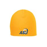 Gold Knit Beanie-ASU