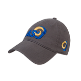 Charcoal Twill Unstructured Low Profile Hat-ASU