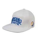 White OttoFlex Flat Bill Pro Style Hat-Angelo State
