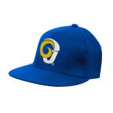 Royal OttoFlex Flat Bill Pro Style Hat-Ram Logo