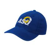 Royal Flexfit Structured Low Profile Hat-ASU Logo