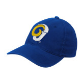 Royal Flexfit Structured Low Profile Hat-Ram Logo