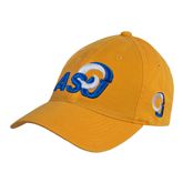 Gold Twill Unstructured Low Profile Hat-ASU