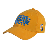 Gold Twill Unstructured Low Profile Hat-Angelo State