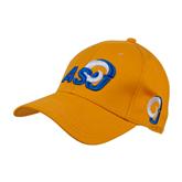 Gold Heavyweight Twill Pro Style Hat-ASU