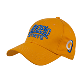 Gold Heavyweight Twill Pro Style Hat-Angelo State
