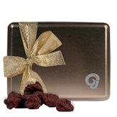 Decadent Chocolate Clusters Gold Large Tin-Official Logo Engraved