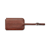 Fabrizio Brown Luggage Tag-Angelo State University Engraved