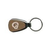 Gold Teardrop Key Holder-Official Logo Engraved