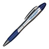 Silver/Blue Blossom Pen/Highlighter-Angelo State University