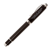 Luna Black Rollerball Pen-Angelo State University Engraved