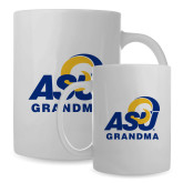 Full Color White Mug 15oz-ASU Grandma