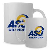 Full Color White Mug 15oz-ASU Grandpa