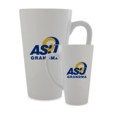 Full Color Latte Mug 17oz-ASU Grandma