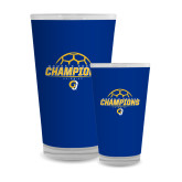 Full Color Glass 17oz-Womens Soccer Champions