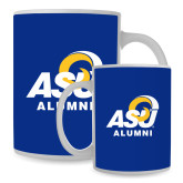 Alumni Full Color White Mug 15oz-Official Logo