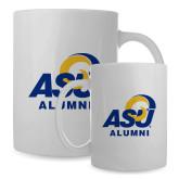 Alumni Full Color White Mug 15oz-ASU Alumni