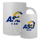 Dad Full Color White Mug 15oz-ASU Dad
