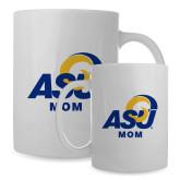 Mom Full Color White Mug 15oz-ASU Mom