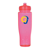 Spectrum Pink Sport Bottle 28oz-Official Logo