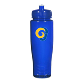 Spectrum Blue Sport Bottle 28oz-Official Logo