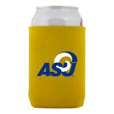 Neoprene Gold Can Holder-ASU Logo