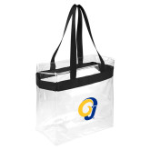 Game Day Clear Stadium Tote-Ram Logo