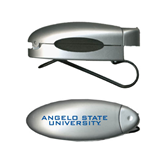 Silver Bullet Clip Sunglass Holder-Angelo State University