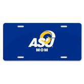 License Plate-ASU Mom