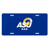 License Plate-ASU Dad